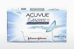 Lentilles de contact Johnson & Johnson ACUVUE ADVANCE for ASTIGMATISM AGT-6P-REV