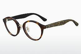 Lunettes design Jimmy Choo JC197/F OCY - Brunes, Havanna