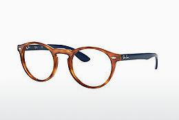 Lunettes design Ray-Ban RX5283 5609 - Brunes, Havanna, Orange