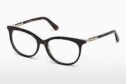 Lunettes design Tod's TO5156 052 - Brunes, Dark, Havana