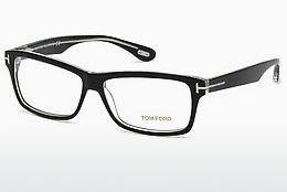 Lunettes design Tom Ford FT5146 003 - Noires, Transparent