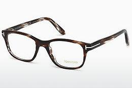 Lunettes design Tom Ford FT5196 050 - Brunes, Dark