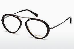 Lunettes design Tom Ford FT5346 052 - Brunes, Dark, Havana