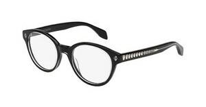 Alexander McQueen AM0028O 001 BLACK