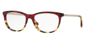 Burberry BE2189 3664 RED HAVANA/LIGHT HAVANA