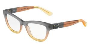 Dolce & Gabbana DG3253 3074 GRAD BROWN/CARAMEL/YELLOW