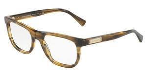 Dolce & Gabbana DG3257 3063 STRIPED BROWN