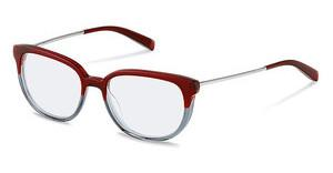 Jil Sander J4009 B red grey gradient