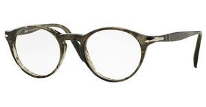 Persol PO3092V 1020 STRIPED GREY