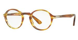 Persol PO3141V 1050 STRIPED BROWN YELLOW