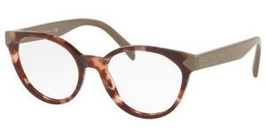 Prada PR 01TV UE01O1 SPOTTED BROWN PINK