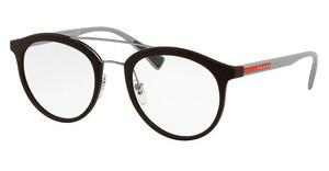 Prada Sport PS 01HV VYY1O1 BROWN RUBBER