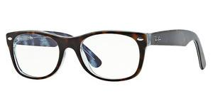 Ray-Ban RX5184 5023 TOP HAVANA ON TRANSPAREN AZURE