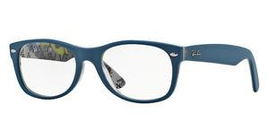 Ray-Ban RX5184 5407 TOP MAT BLUE ON TEX CAMUFLAGE