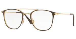 Ray-Ban RX6377 2905 GOLD/SHINY BROWN