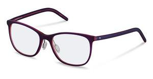 Rodenstock R5284 C dark red satin