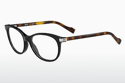 Lunettes design Boss Orange BO 0184 19C - Noires, Brunes, Havanna