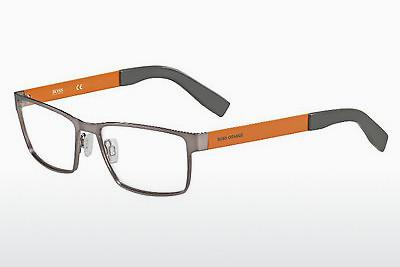 Lunettes design Boss Orange BO 0204 7ZL - Argent, Orange