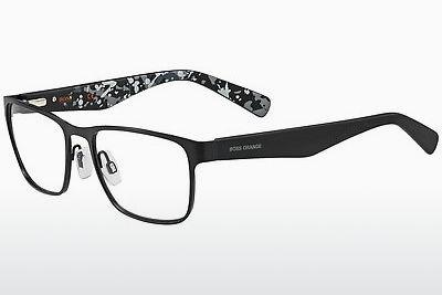 Lunettes design Boss Orange BO 0220 MYI - Noires, Grises, Flowers