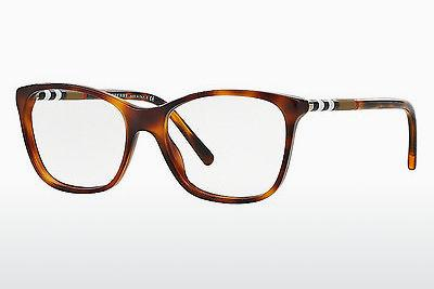 Lunettes design Burberry BE2141 3316 - Brunes, Havanna