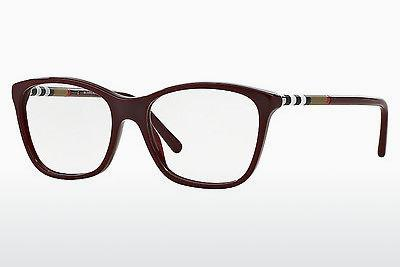 Lunettes design Burberry BE2141 3403 - Rouges, Bordeaux
