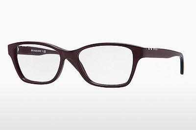 Lunettes design Burberry BE2144 3424 - Pourpre