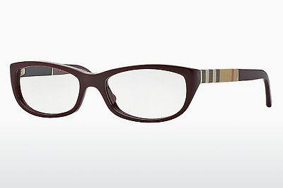 Lunettes design Burberry BE2167 3403 - Rouges, Bordeaux