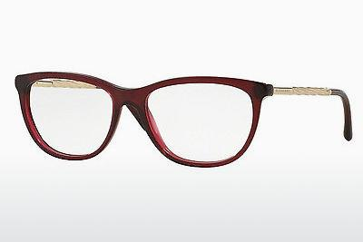 Lunettes design Burberry BE2189 3014 - Rouges, Bordeaux