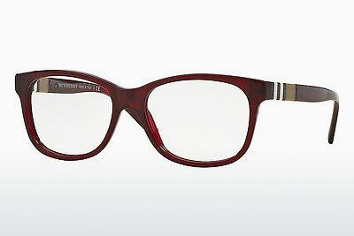 Lunettes design Burberry BE2204 3543 - Rouges, Bordeaux
