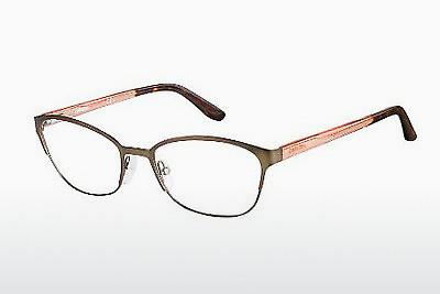 Lunettes design Carrera CA6649 T2Q - Brunes, Orange