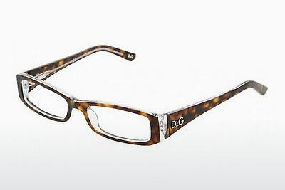 Lunettes design D&G INSTITUTIONAL LOGO (DD1179 556) - Brunes, Havanna