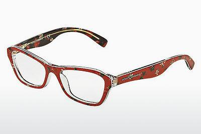 Lunettes design Dolce & Gabbana ALMOND FLOWERS (DG3202 2987) - Rose, Flowers, Rouges