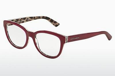 Lunettes design Dolce & Gabbana Enchanted Beauties (DG3209 2882) - Rouges, Bordeaux