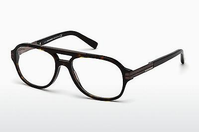Lunettes design Dsquared DQ5157 052 - Brunes, Dark, Havana
