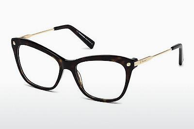 Lunettes design Dsquared DQ5194 052 - Brunes, Dark, Havana