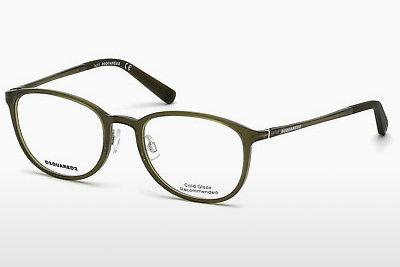 Lunettes design Dsquared DQ5220 093 - Vertes, Bright, Shiny