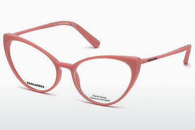 Lunettes design Dsquared DQ5221 072 - Or, Rosa