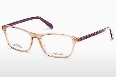 Lunettes design Emilio Pucci EP5048 042 - Orange, Shiny
