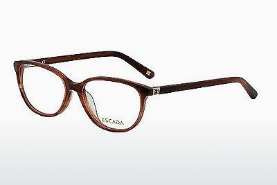 Lunettes design Escada VES258 06DB - Brunes, Rouges, Havanna