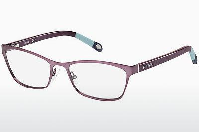 Lunettes design Fossil FOS 6002 GPN - Pourpre, Bleues