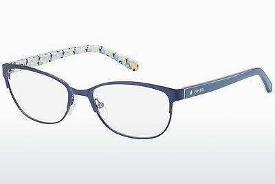 Lunettes design Fossil FOS 6041 HHW - Bleues, Flowers