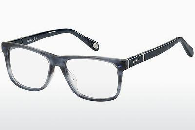 Lunettes design Fossil FOS 6087 0CQ - Bleues