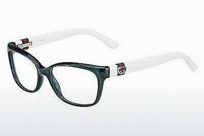 Lunettes design Gucci GG 3683 4UE - Bleues, Turquoise