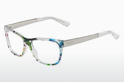 Lunettes design Gucci GG 3741 2G2 - Blanches, Flowers, Or