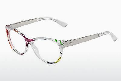 Lunettes design Gucci GG 3742 2G2 - Blanches, Flowers, Or