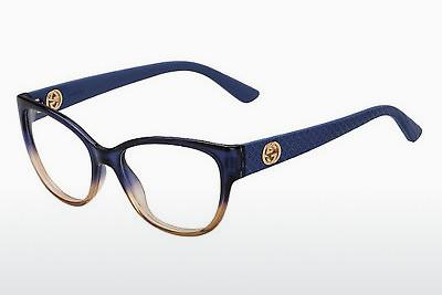 Lunettes design Gucci GG 3789 KF1 - Bleues