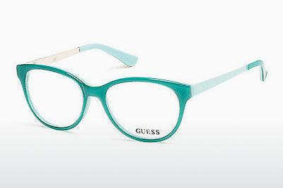 Lunettes design Guess GU2539 093 - Vertes, Bright, Shiny