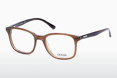 Lunettes design Guess GU2580 045 - Brunes, Bright, Shiny