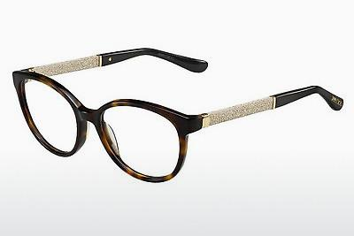 Lunettes design Jimmy Choo JC118 VUU - Brunes, Havanna