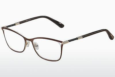 Lunettes design Jimmy Choo JC134 J6L - Brunes, Or